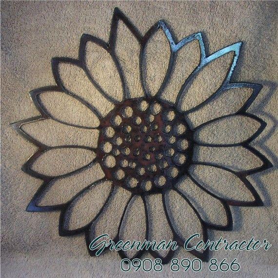 khung-guong-trang-tri-sun-flower