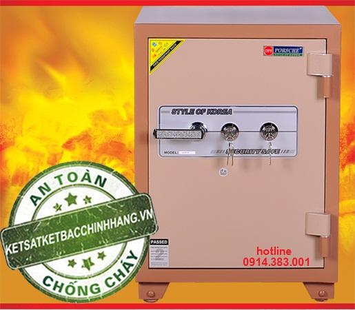 két sắt chống cháy cánh đúc cao cấp office - KS70