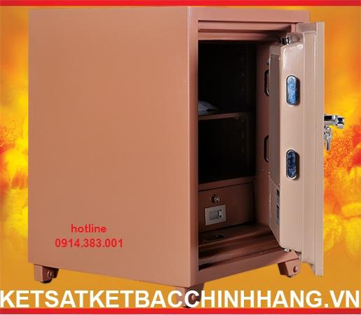 Cánh két sắt Hàn Quốc xuất khẩu PORSCHE office - safe - KS70 - 2 khóa
