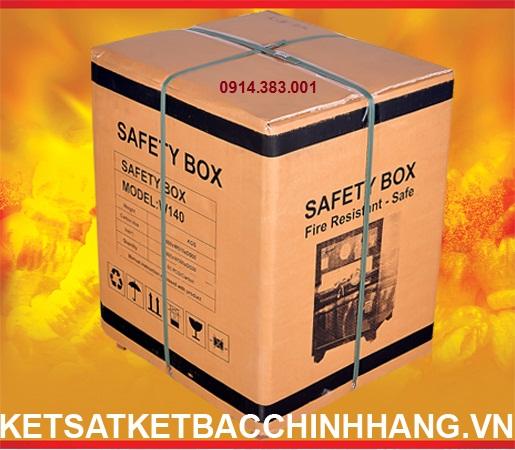 Thùng két sắt chống cháy cánh đúc cao cấp office - KS70