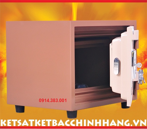 Cánh két sắt Genkin korea KS80 khóa điện tử kiểu vuông