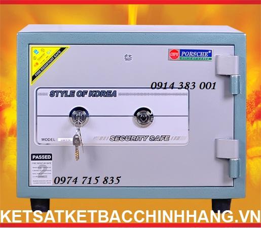 Két Sắt Cánh Đúc KS80 - 2k xanh