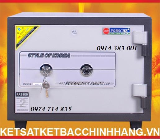 Thông số kỹ thuật Két Sắt Mini Cánh đúc KS80 N - 2k đen