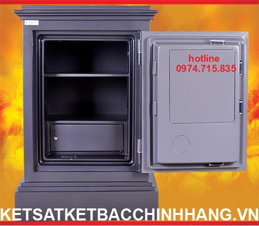 Hệ thống chốt két sắt Hàn Quốc cánh đúc PORSCHE KD54 khóa cơ