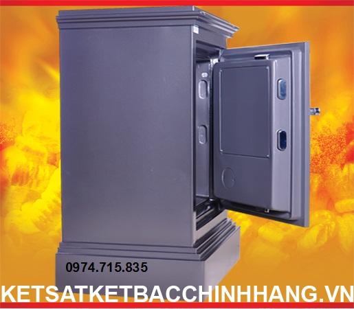 Cánh két sắt chống cháy cánh đúc KD74 Khoá Cơ