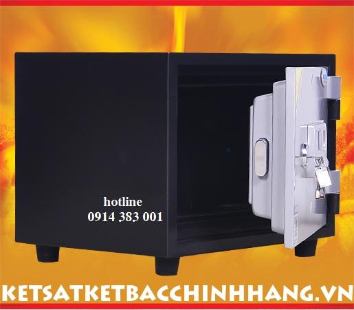Hệ Thống Khoá Két Sắt Liên Hoàn của két sắt chống cháy Genkin korea KS80 vân tay