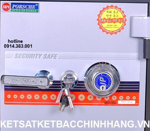 Khóa của két Sắt Hàn Quốc Cánh Đúc KS125 Đổi Mã
