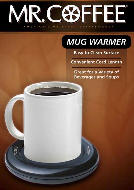 Đế giữ nóng tách cà phê, đồ uống Mr Coffee Mug Warmer