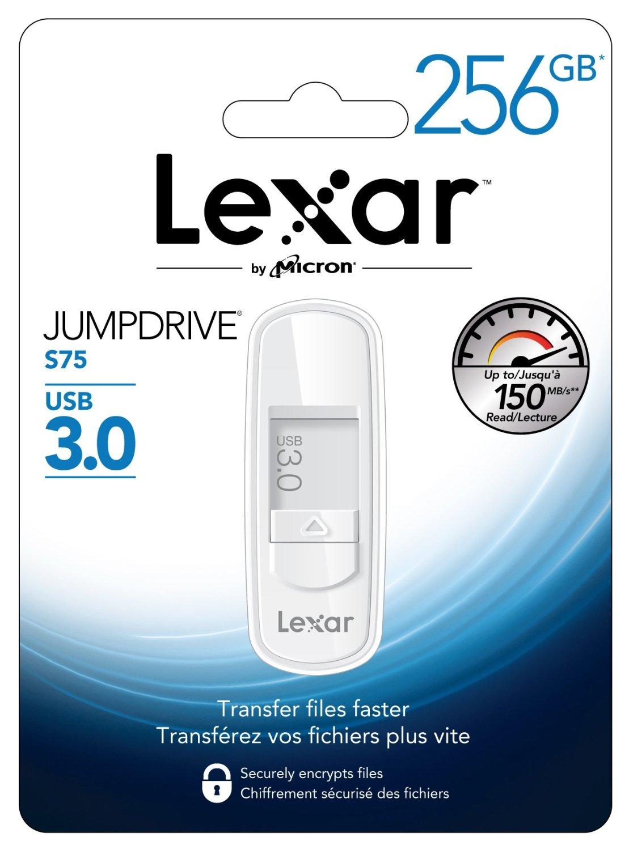 USB 3.0 Lexar 256GB JumpDrive S75