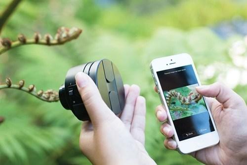 Ống kính không dây Sony Cyber Shot DCS-QX10