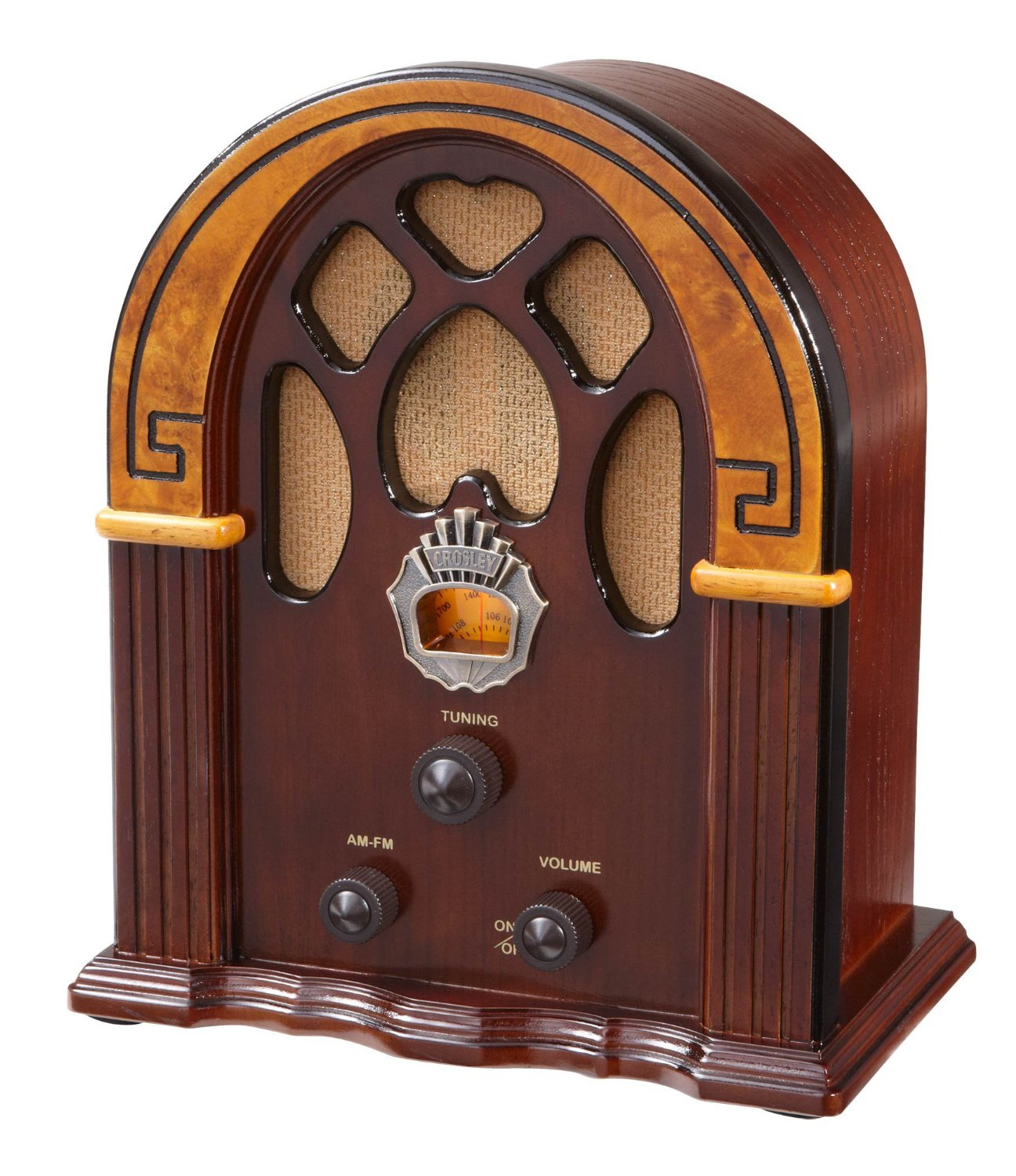 Đài radio kiểu cổ Crosley CR31-WA Companion Retro AM/FM
