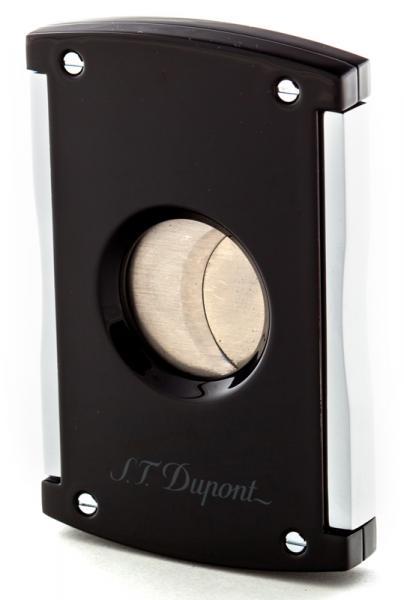 Dao cắt cigar S.T. Dupont Black Lacquer & Chrome Cigar Cutter 3265