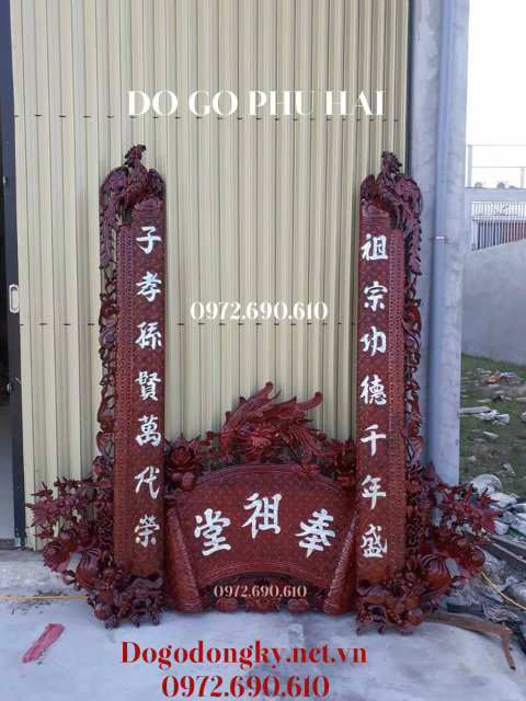 Bo Hoanh phi cau doi, HOÀNH PHI CÂU ĐỐI - Đồ Thờ Cúng Bán Tại Hải Phòng