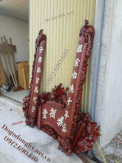 Mau cuon thu cau doi dep, Mẫu CUỐN THƯ CÂU ĐỐI Chạm Phượng Bán Tại Quảng Ninh