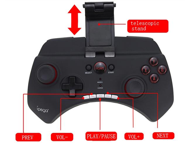 tay chơi game không dây  cho  smarphone  giá chỉ 550k rẻ nhất thị trường - 84269