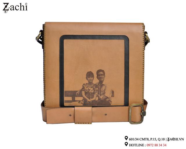 Túi da handmade Zachi đựng ipad