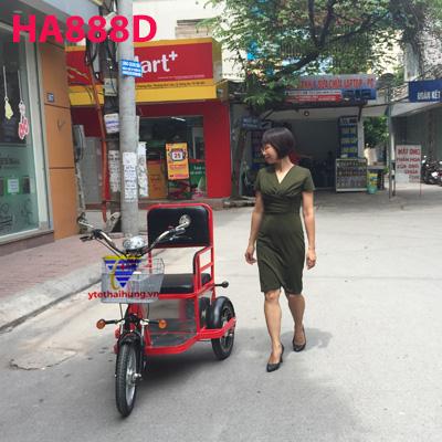 xe lăn điện tự chế