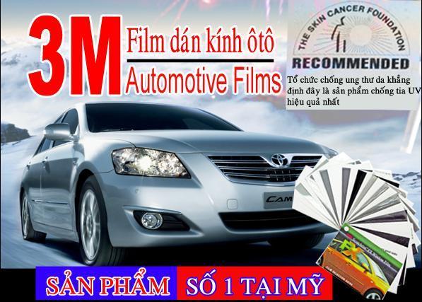 Film cách nhiệt ô tô, nhà kính tại tphcm 01