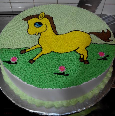 Bánh Kem In Hình Mr Cake