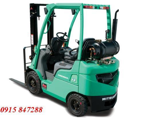 Xe nâng dầu Misubishi Nhật 2,5 tấn chui container tại TP.HCM - 0915847288