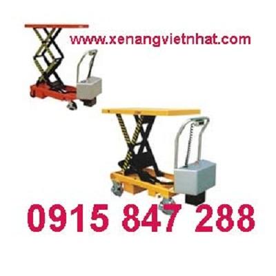 Xe nâng mặt bàn điện, bàn nâng điện tại TP.HCM - 0915 847 288