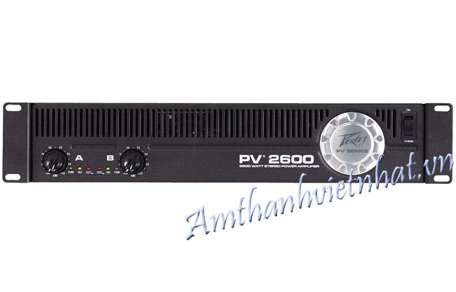 Cục đẩy công suất PEAVEY PV 2600