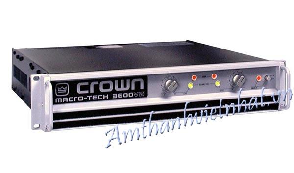 Cục đẩy power Crown 3600