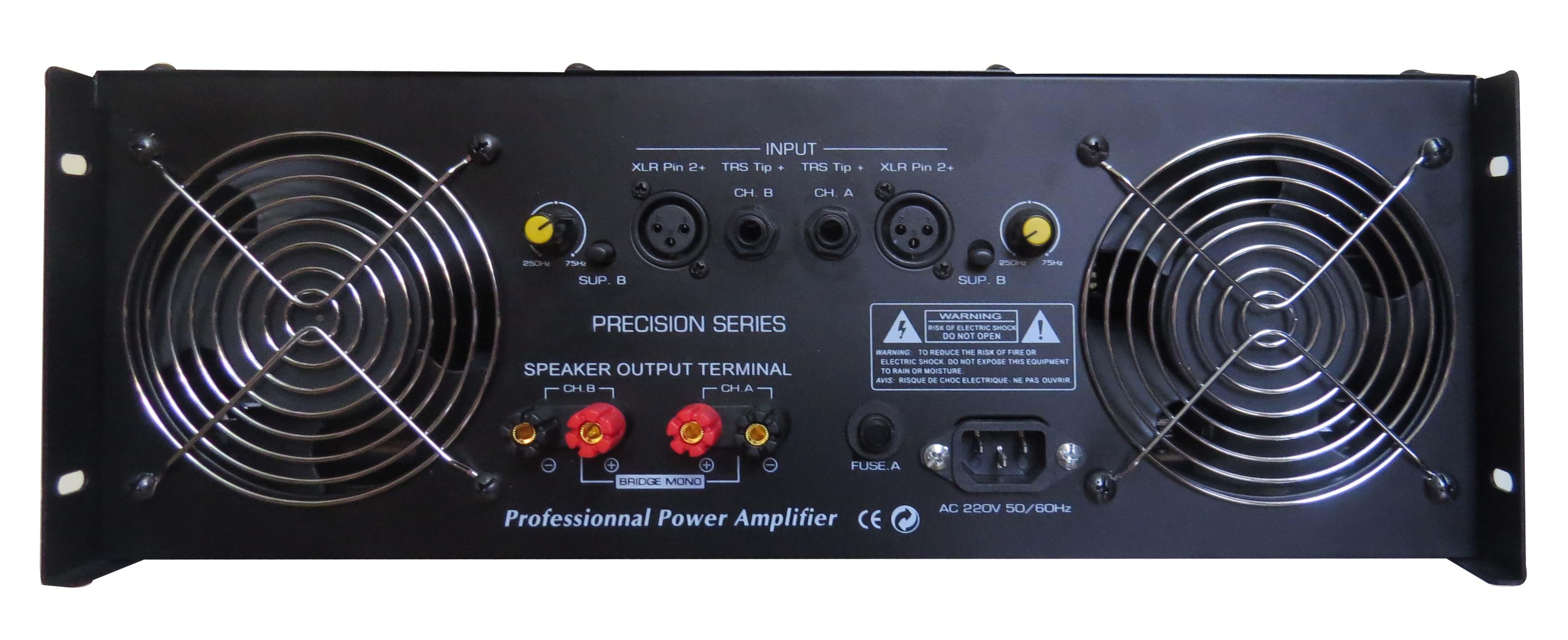 Mặt sau của cục đẩy Power VE - Ps 3600