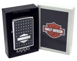 Zippo Harley Davidson Shield – Street Chrome