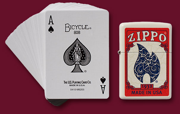Zippo Zippo Lighter and Playing Cards Gift Set