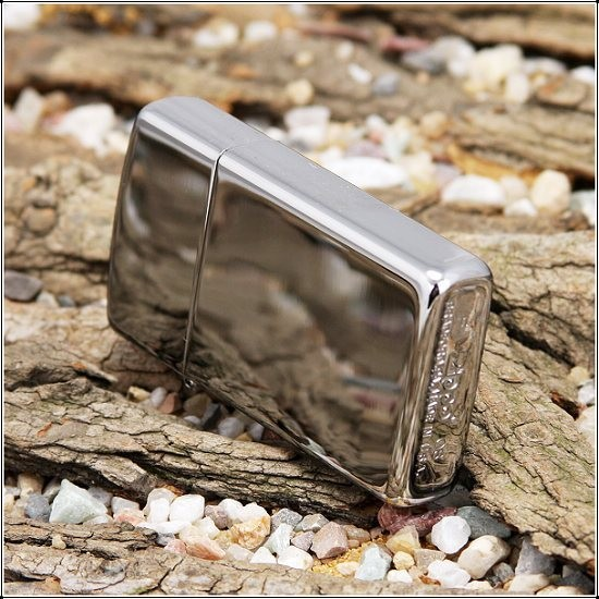 Zippo Slim High Polished Chrome