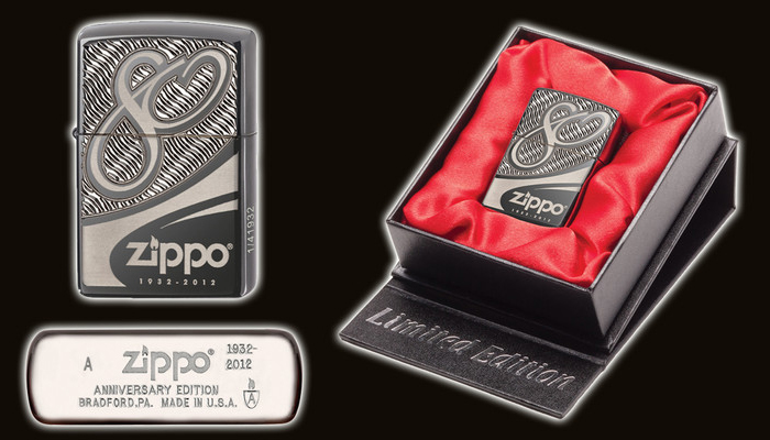 Zippo 80th Anniversary Limited Edition
