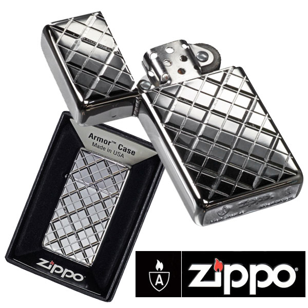 Zippo Slim Armor High Polish Chrome