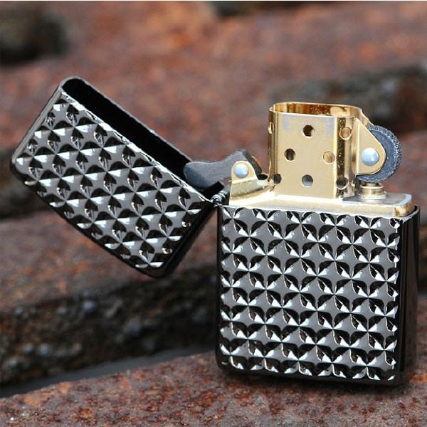 Zippo Diamond Cut Armor Ebony
