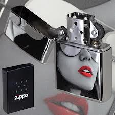 Zippo BS Sunglasses High Polished Chrome