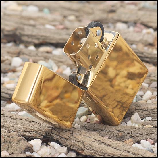 Zippo High Polished Brass
