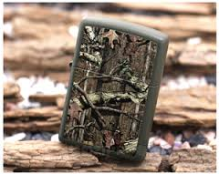 Zippo Mossy Oak Break Up Infinity Green Matte