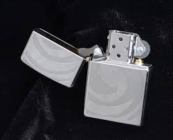 Zippo 3D Abstract High Polished Chrome