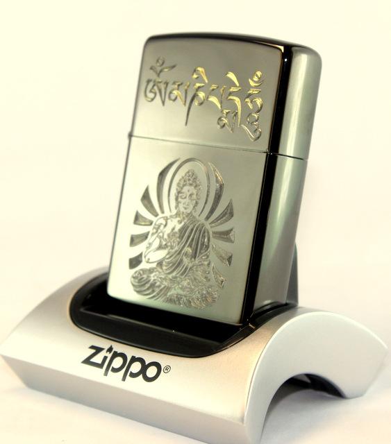 Zippo Khắc Phật Và Lục Tự Châm Ngôn