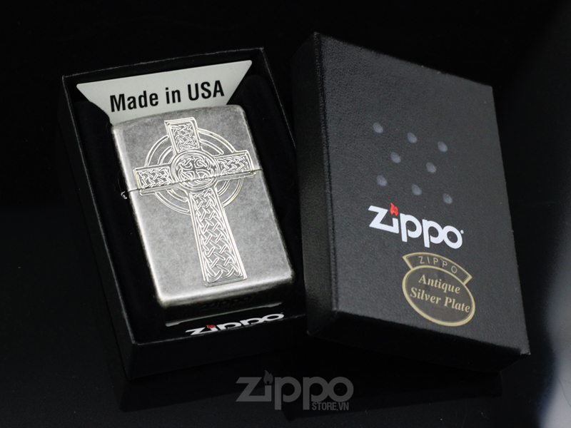 zippo silver plated