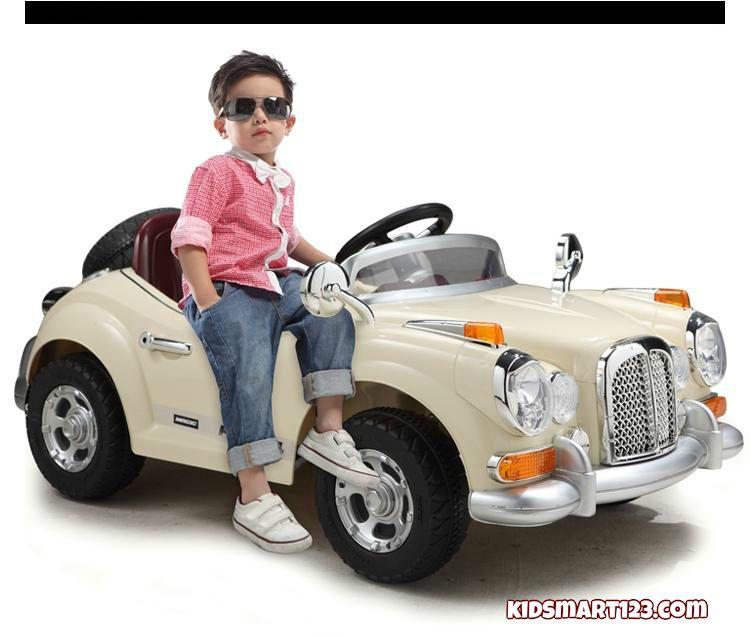 Ô tô điện trẻ em JE128 - xe hơi cổ