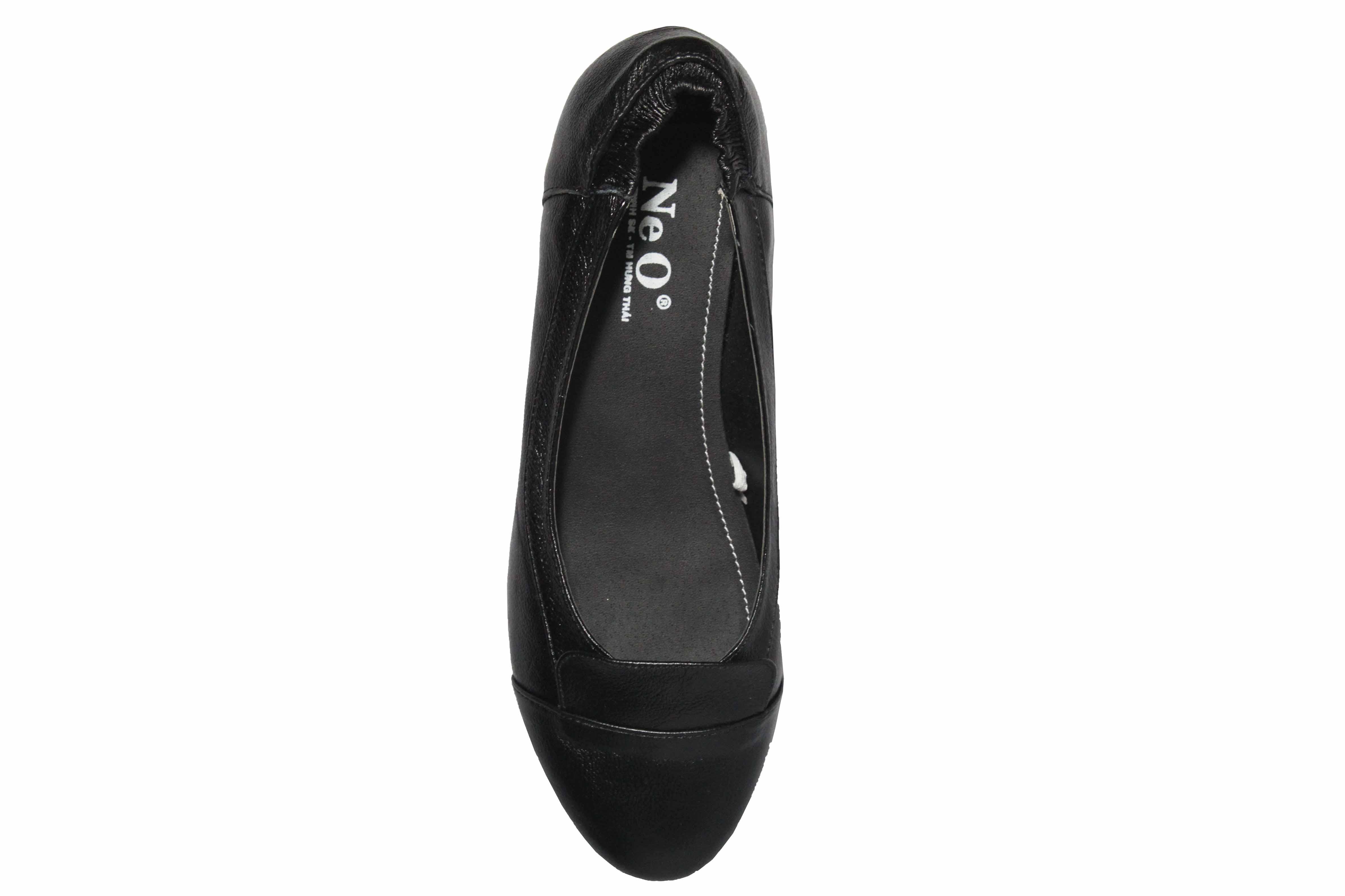 giày moka nữ da thật