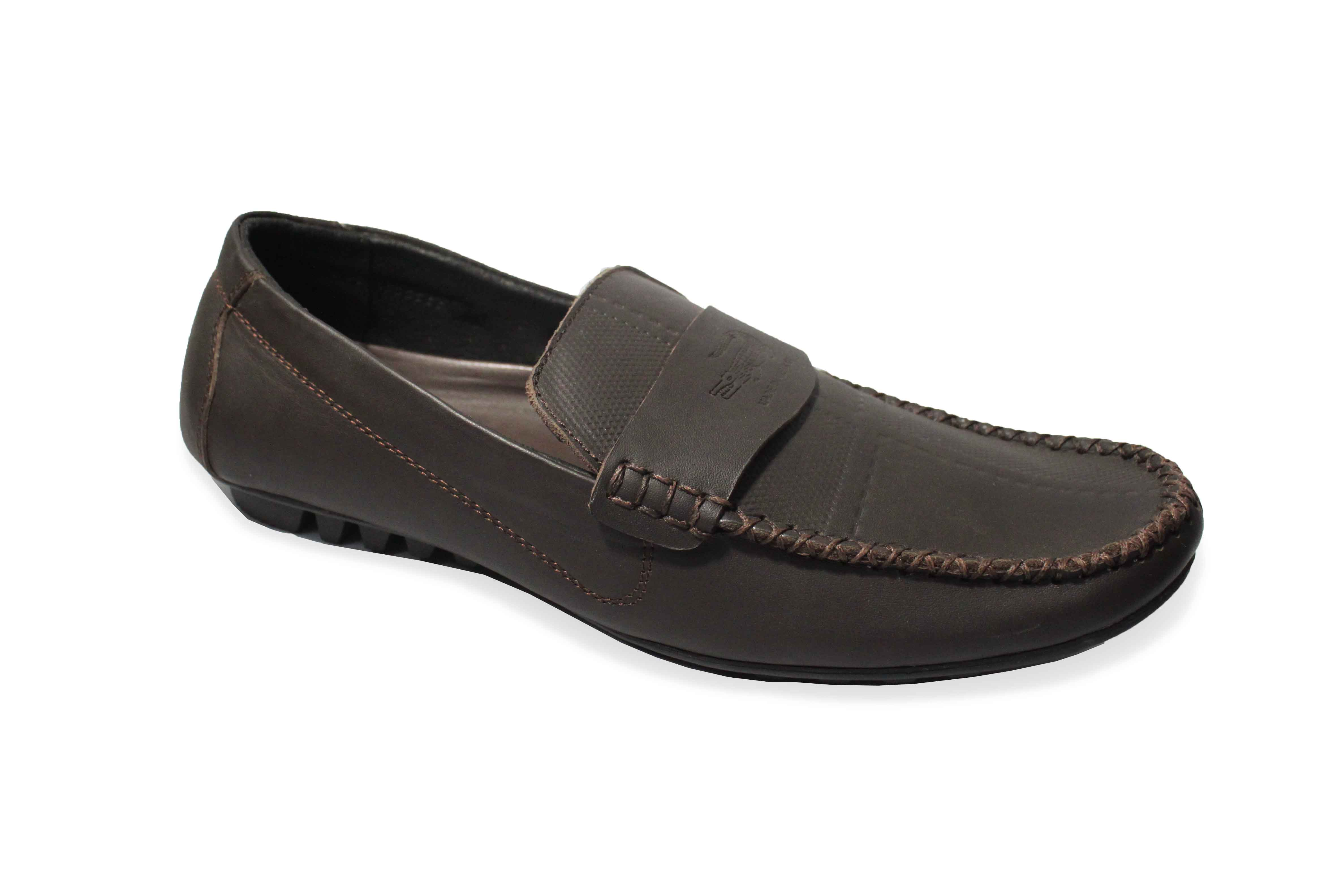giày mọi da bò