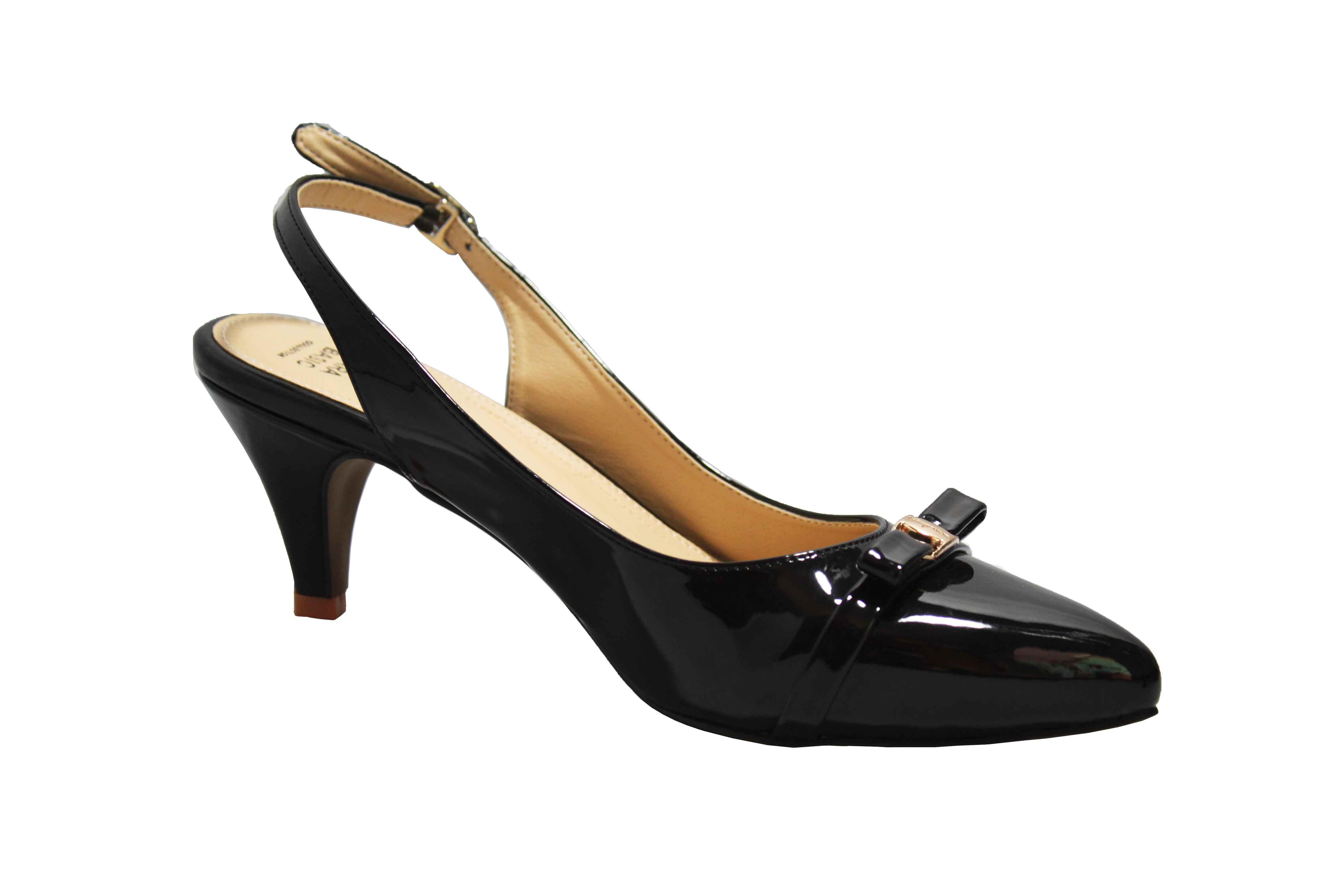 sandal nữ da bóng