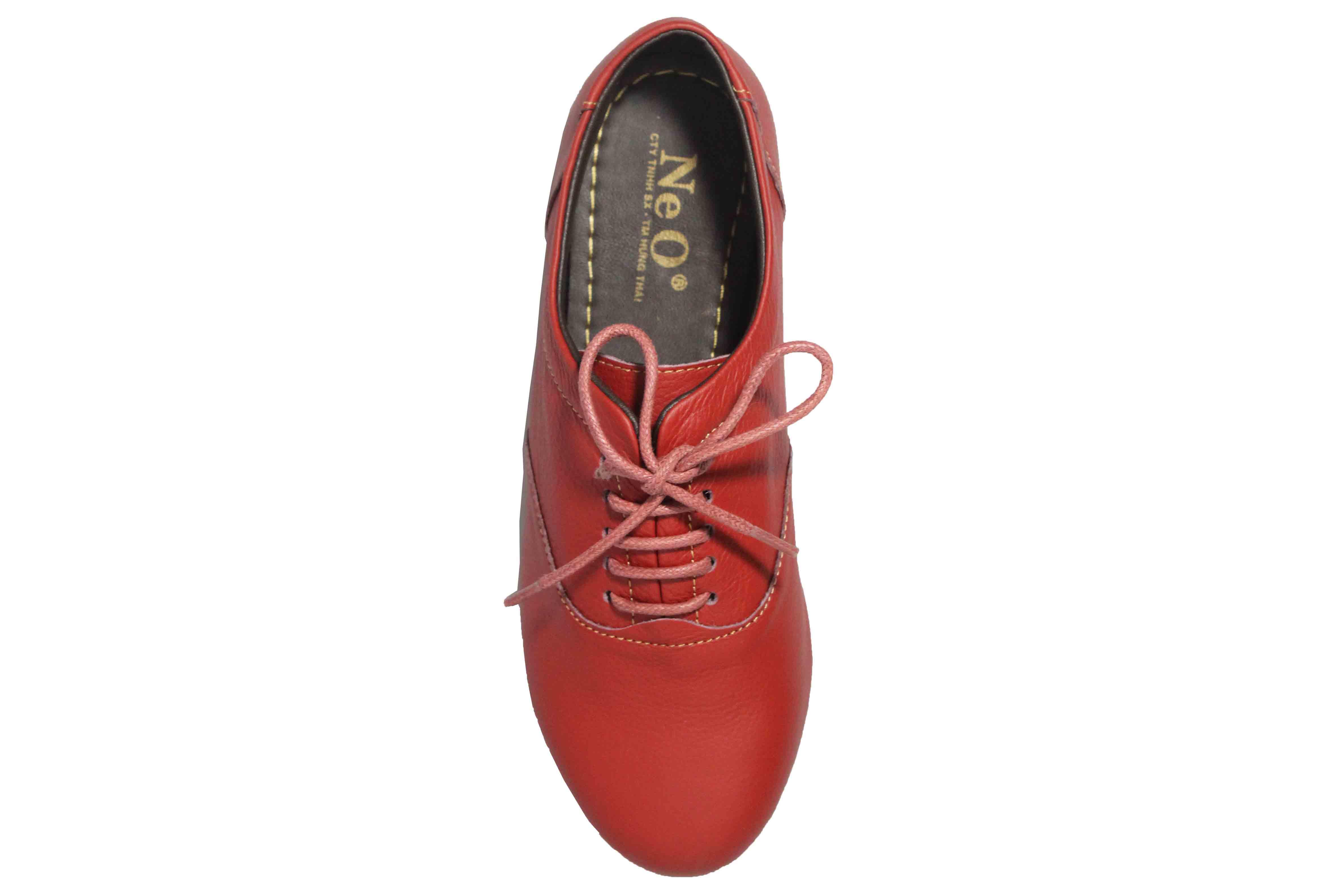 giày oxford buộc dây nữ