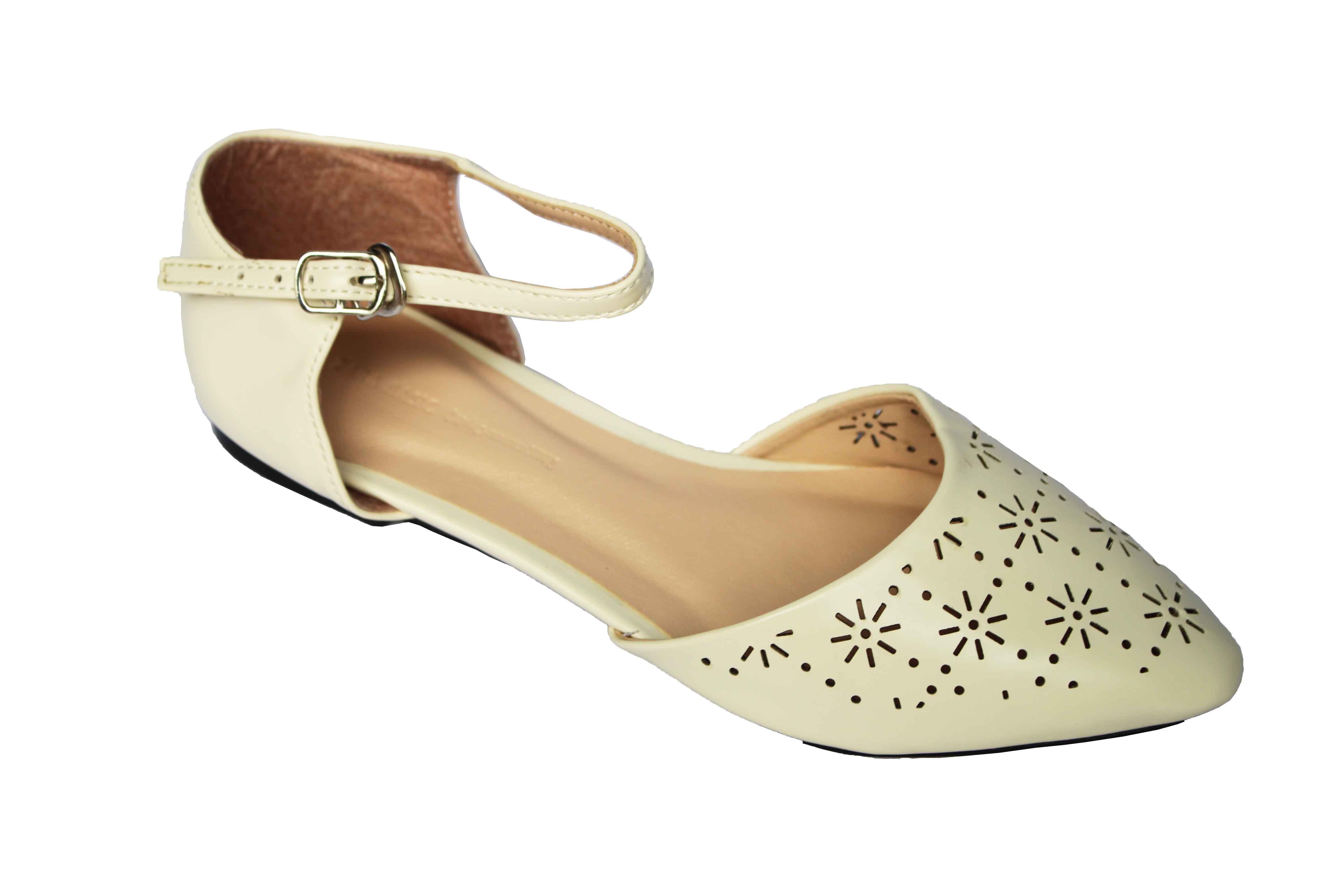 giày đế bệt nữ mũi nhọn