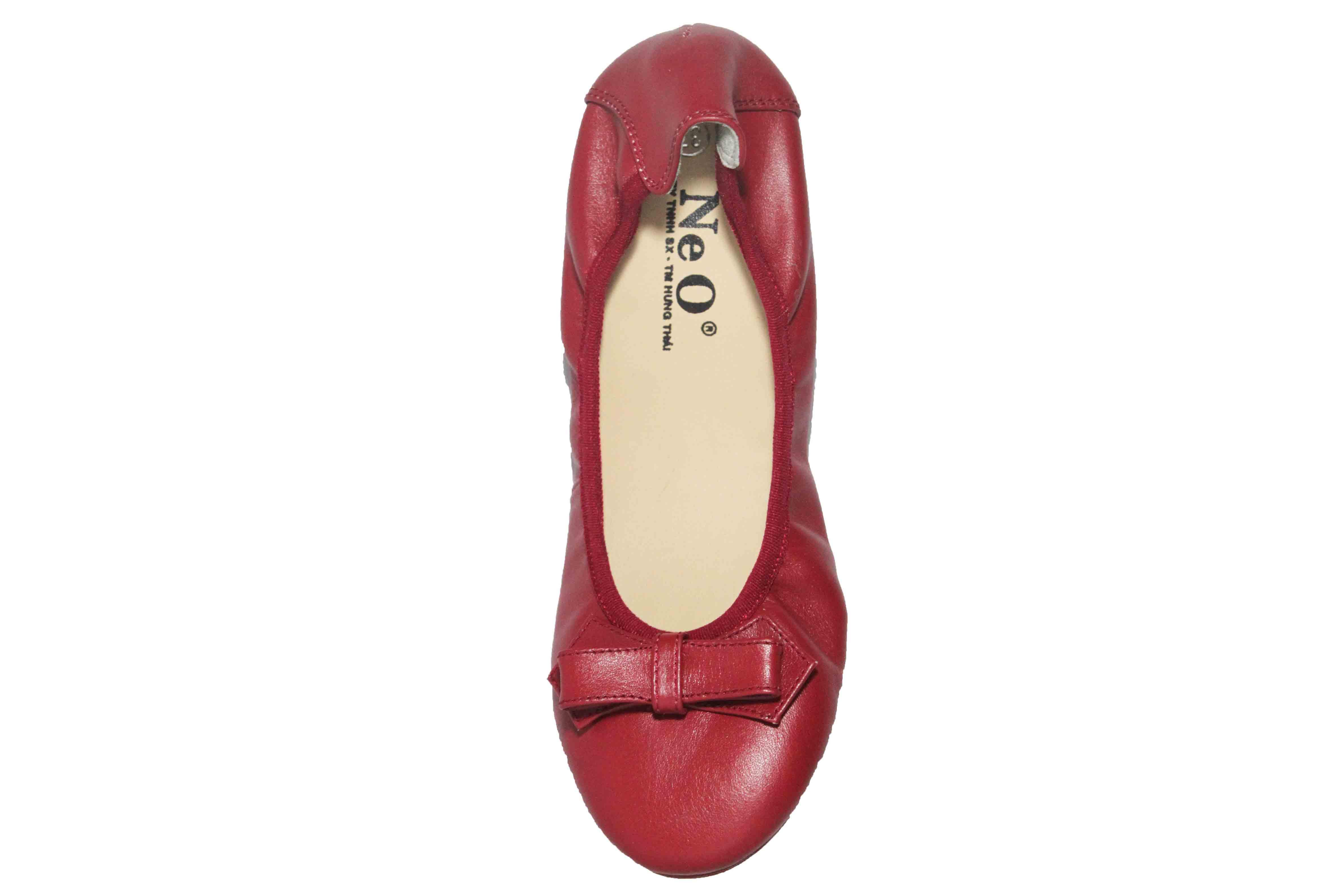 giày bệt chun da mềm