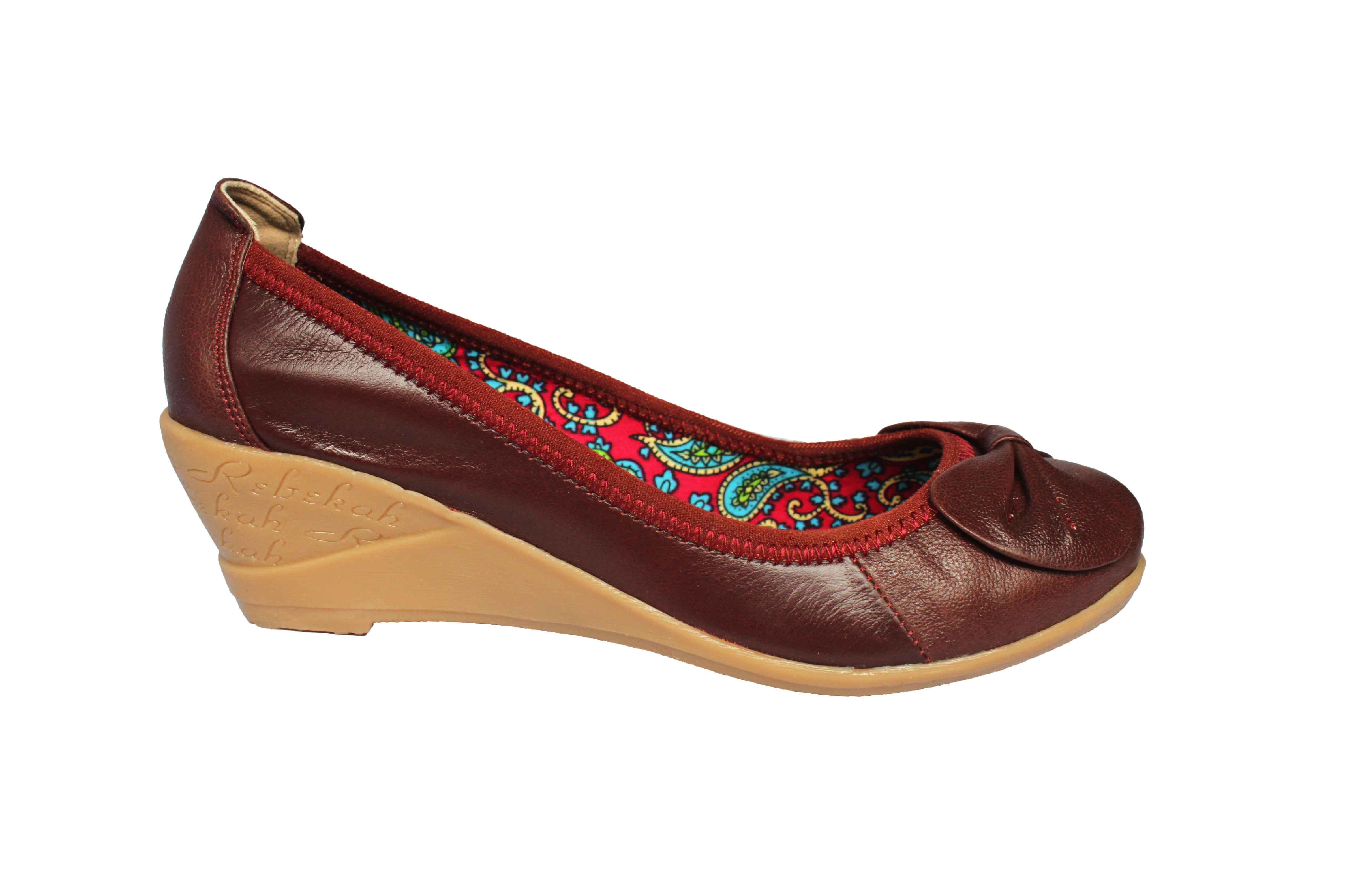 giày đế xuồng lót vải hoa