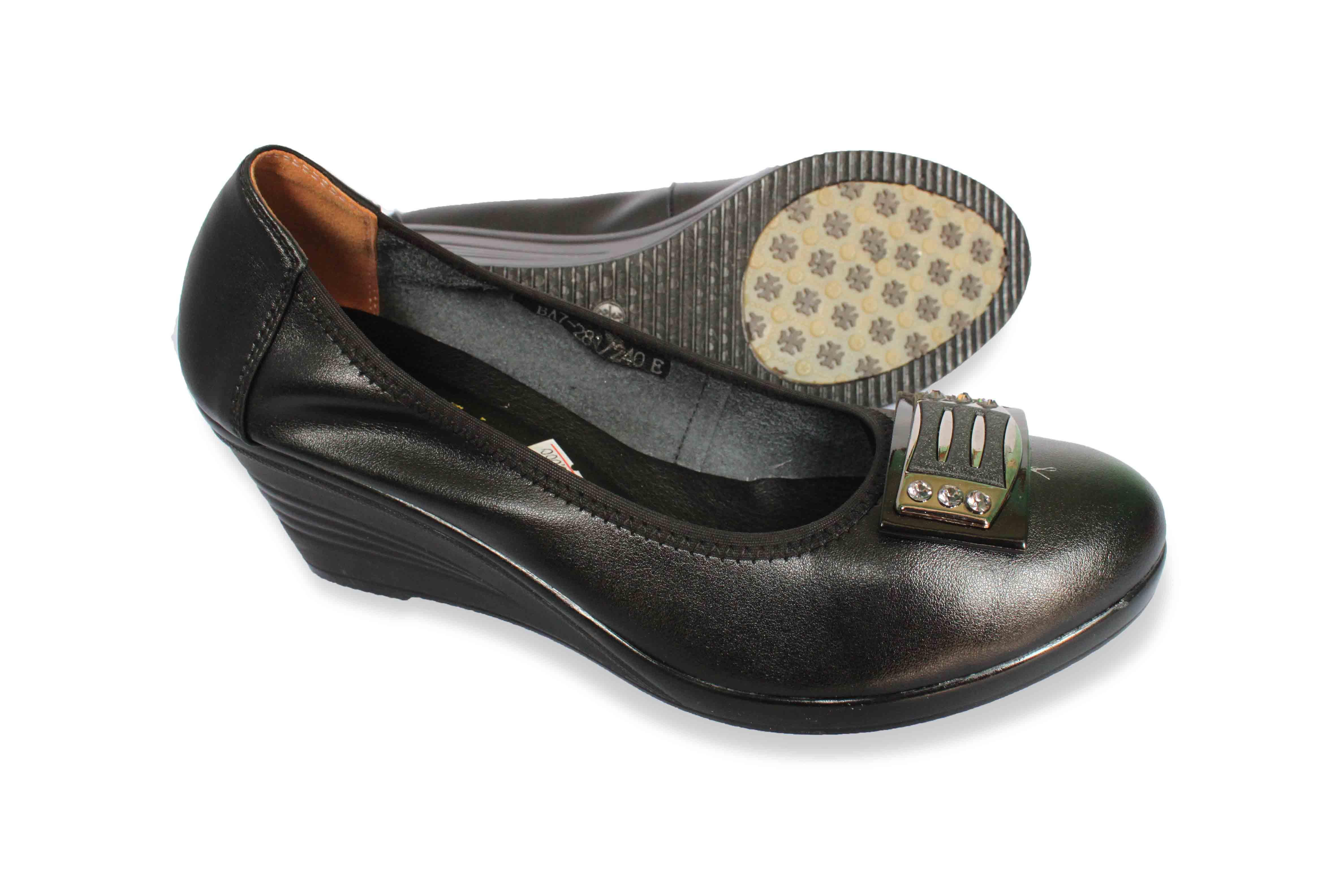 giày đế xuồng da mềm