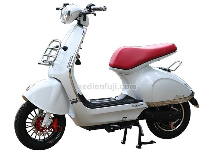 Xe máy Mocha Milan II thanh lịch và sang trọng